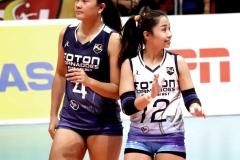 Carmina Aganon & Jennylyn Reyes