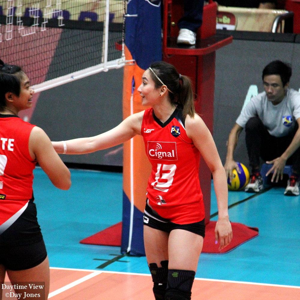 PSL Volleyball - Generika-Ayala Lifesavers vs Cignal HD ...