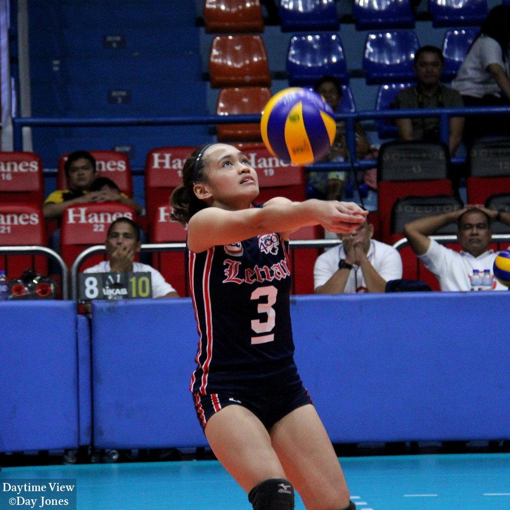 Ncaa Volleyball Colegio De San Juan De Letran Vs Lyceum Of The Philippines University Daytime View