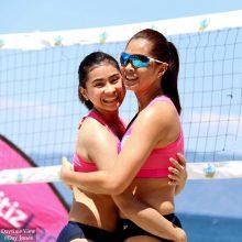 BVR Women's Beach Volleyball – National University vs Air Force 2